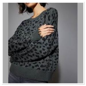 Nation Ltd Grey Trixie sweater grey alpaca blend